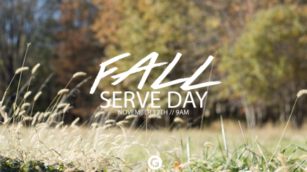 Fall Serve Day With Date